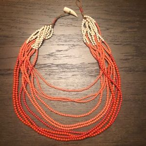 Beaded & layered necklace